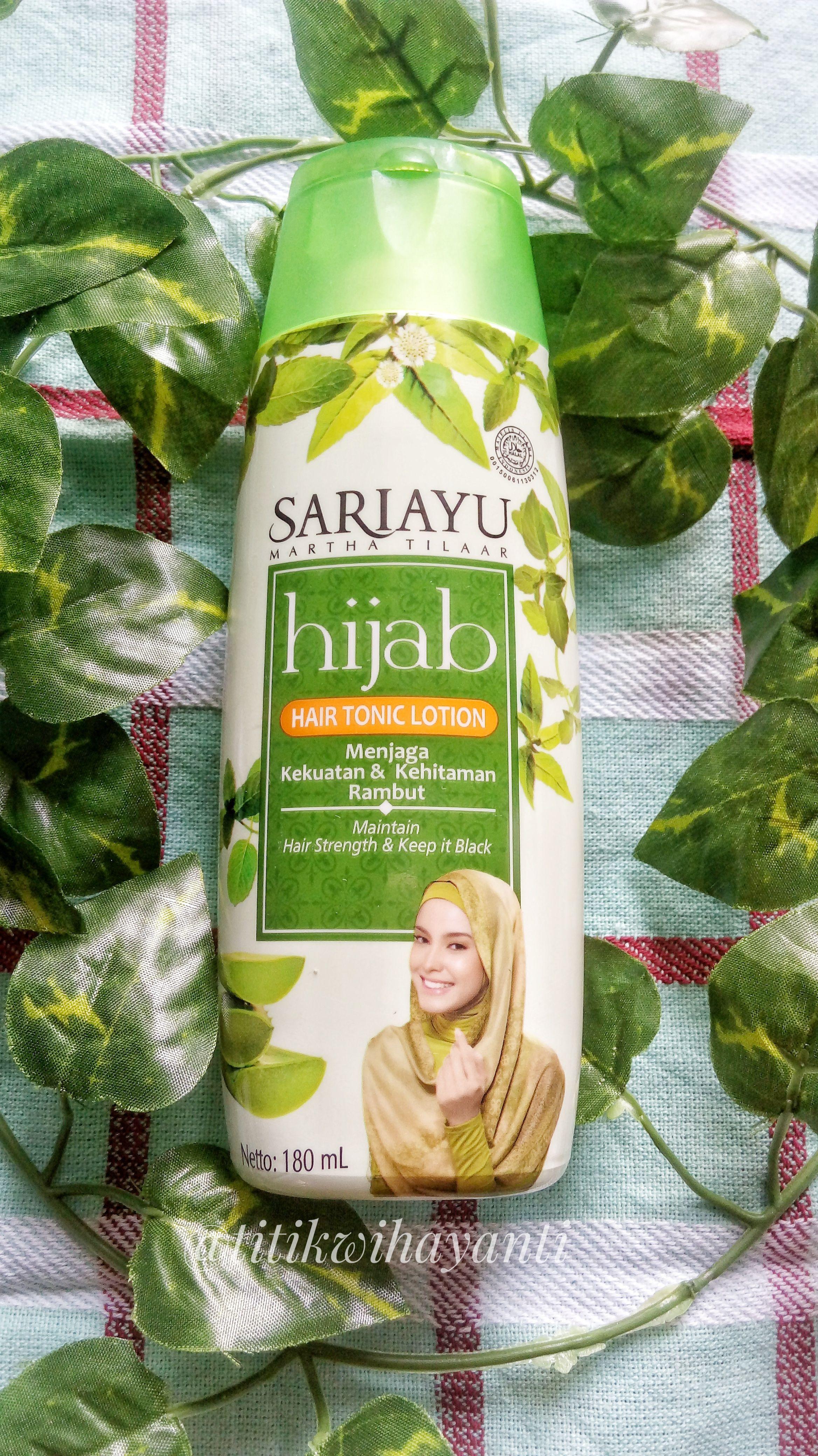 Hair Tonic Lotion By Sariayu Hijab Perawatan Rambut Bahan Alami Rambut