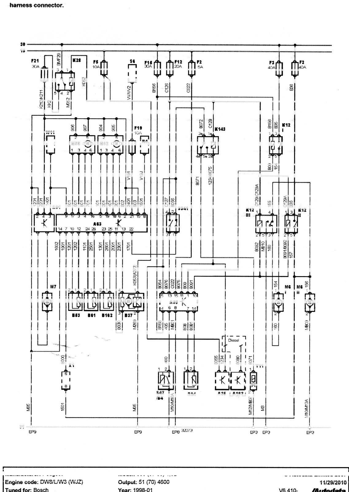 hight resolution of peugeot 406 wiring diagram free download peugeot 405 fuse box pdf wiring diagram schematics