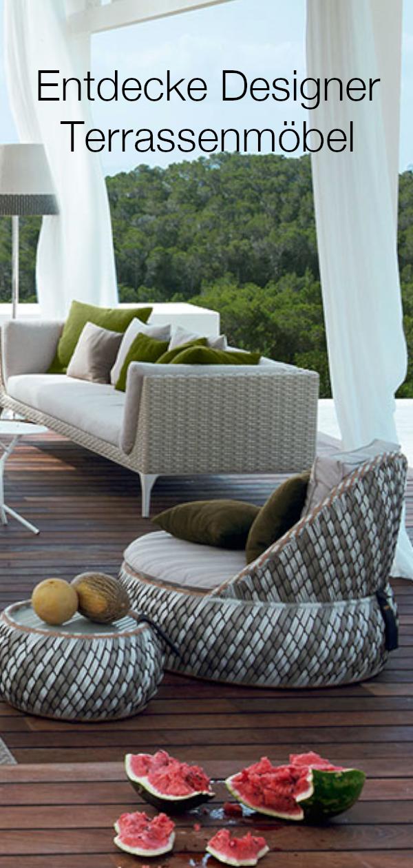 Geflochtene Mobel Outdoor Mobel Garten Lounge Outdoor Mobel Terrassengestaltung Terrasse Inspiration In 2020 Dedon Furniture Furniture Outdoor Furniture Sets