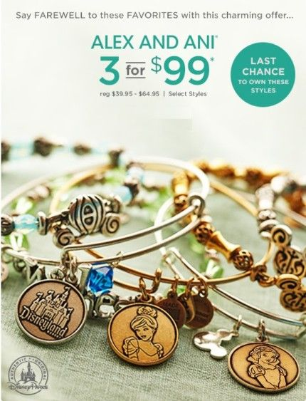 Confirmed More Disney Alex And Ani Designs Are Retiring