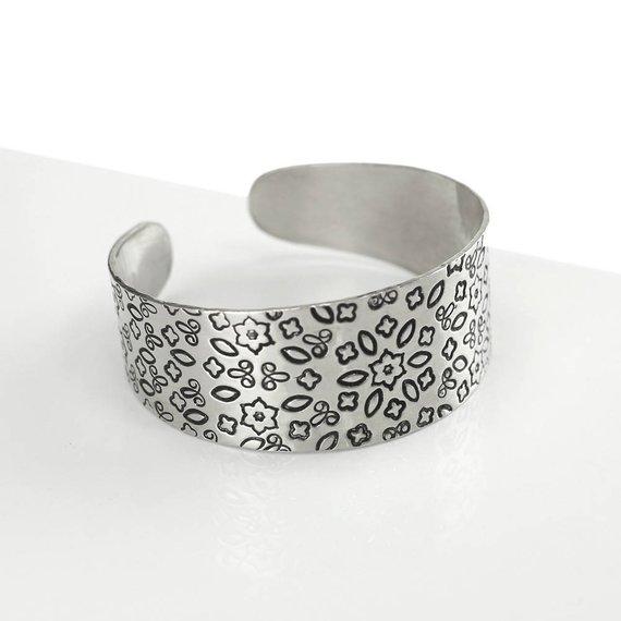 1 by 6 ImpressArt Soft Strike 14 Gauge Aluminum Bracelet Stamping Blanks---24 Blanks