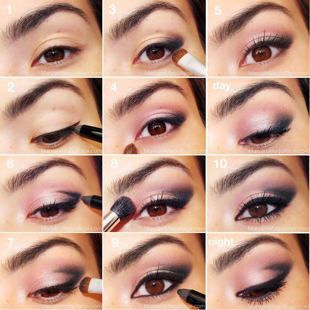 Favoloso 26 Easy Step by Step Makeup Tutorials for Beginners | Pink eye  CH36