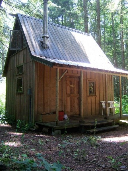 Sonoma Shanty Plans For Building A Tiny House Our Spare