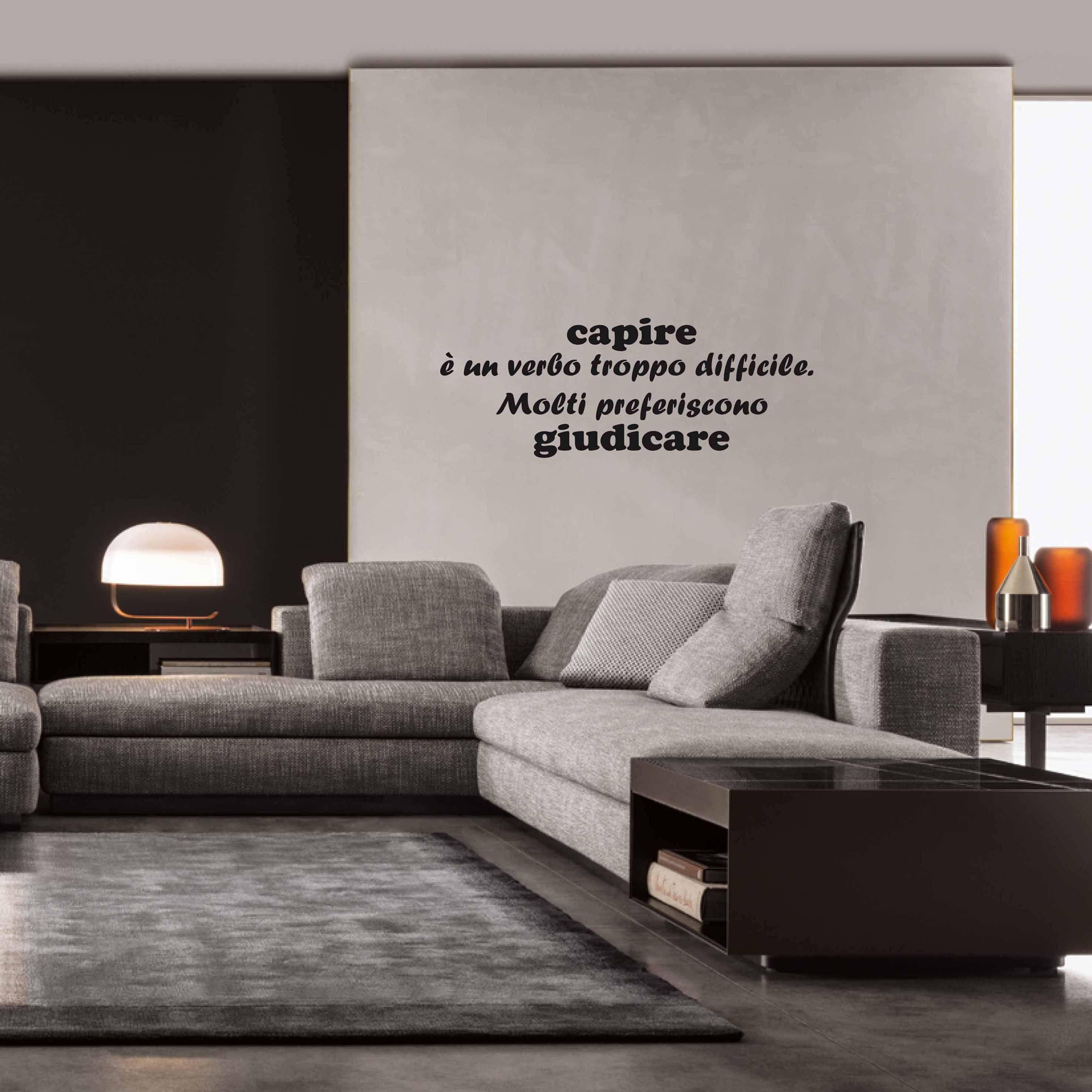 Lettere Da Appendere Al Muro citazione - adesivi murali, scritte adesive, scritte
