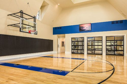 Home Gym Design Pictures Remodel Decor And Ideas Page 6 Home Basketball Court Home Gym Design Indoor Sports Court