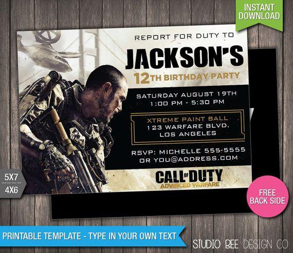 call of duty advanced warfare birthday
