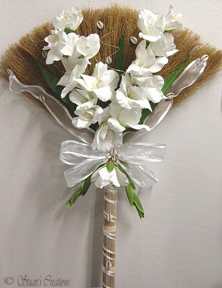 African Wedding Flowers Jpg 449 580 Wedding Broom African Wedding Wedding Decor Elegant