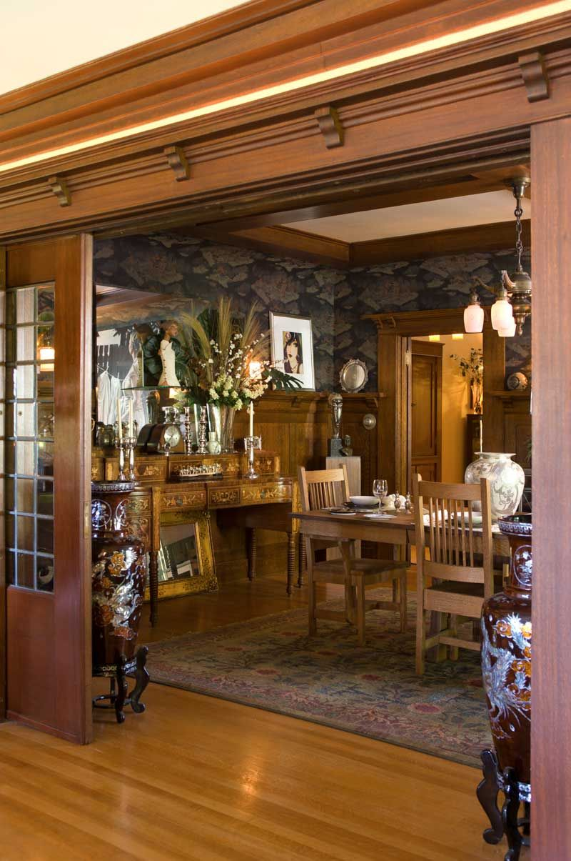 Dreaming Up A Craftsman In Portland Oregon Craftsman Dining Room Craftsman Style Homes Craftsman Decor