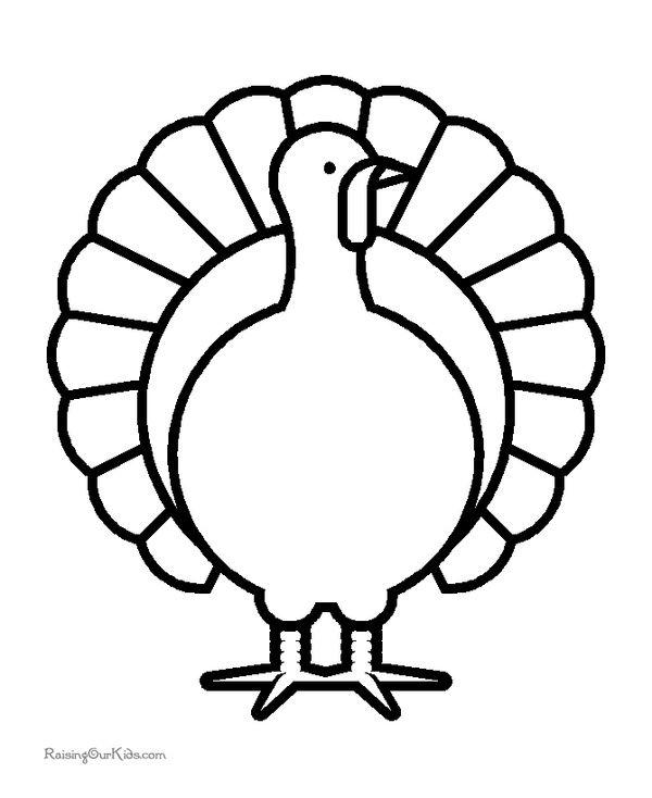 Thanksgiving Turkey Printable Coloring Sheets Thanksgiving