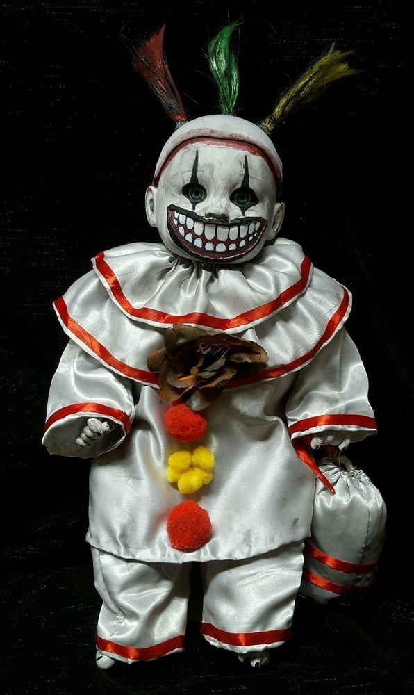 Twisty the Clown Doll American Horror Story Inspired Halloween Haunted Prop