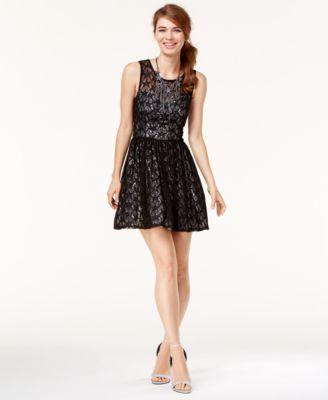 89e5d9a65 Trixxi Juniors' Star Lace Fit | Clothes I want | Dresses, Junior ...