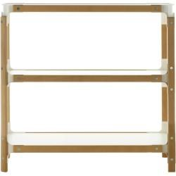 Photo of Magis Steelwood Shelving System modular shelf system, 3 shelves, 2 modules, natural beech, joints and