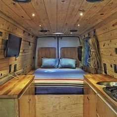 50 Full DIY Camper Van Conversions You Must Try