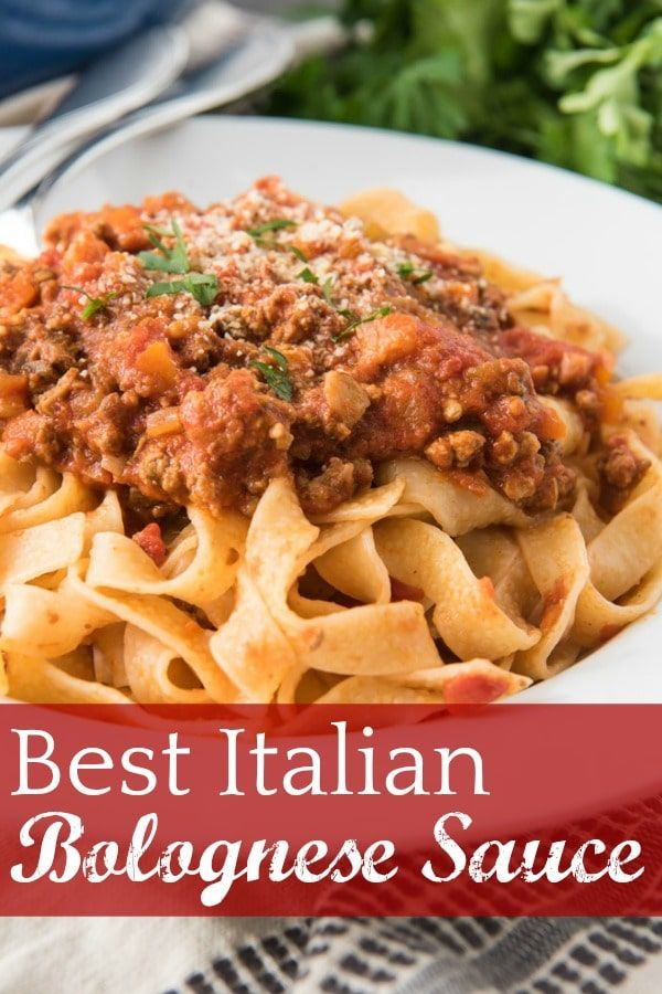 Best Bolognese Sauce Recipe