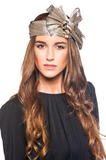 Turbante Abierto Pedrería Adornos Para Vestidos 6683c572bfc