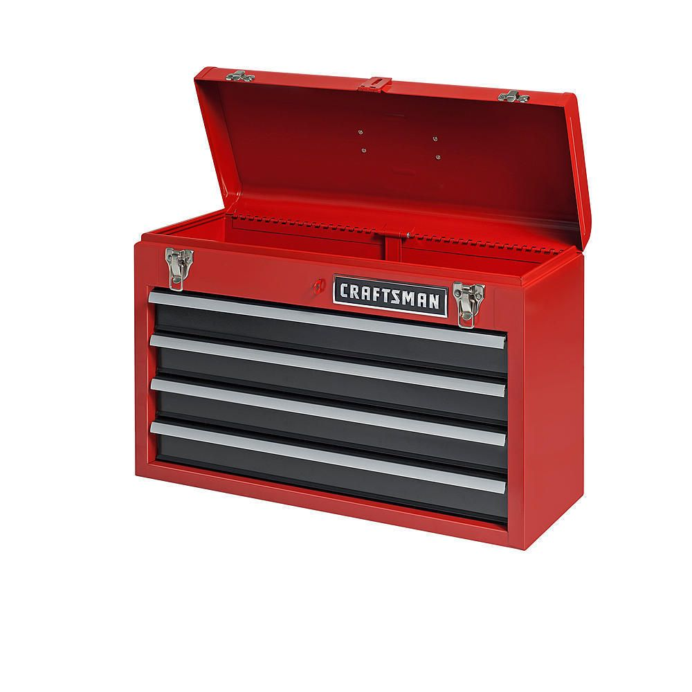 Toolbox Chest 4 Drawer Portable Steel Mechanic Storage 1820 Cubic Inch Lockable Unbranded Portable Tool Box Portable Tools Steel Tool Box
