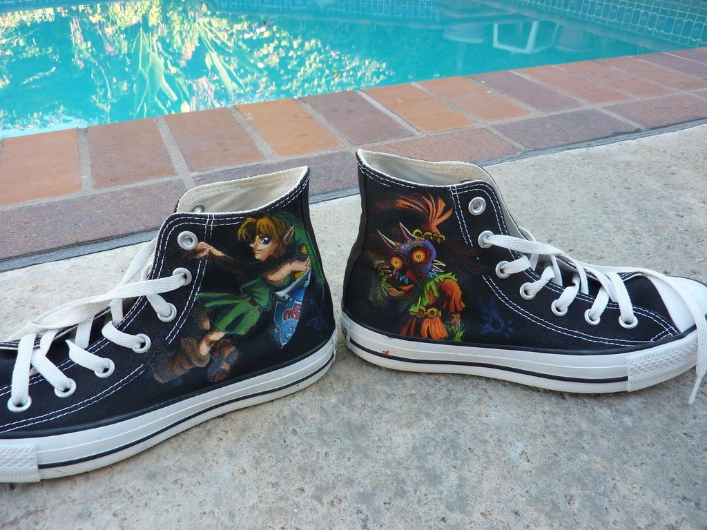 Personalize Shoes With Acrylic Personalized shoes, Zelda