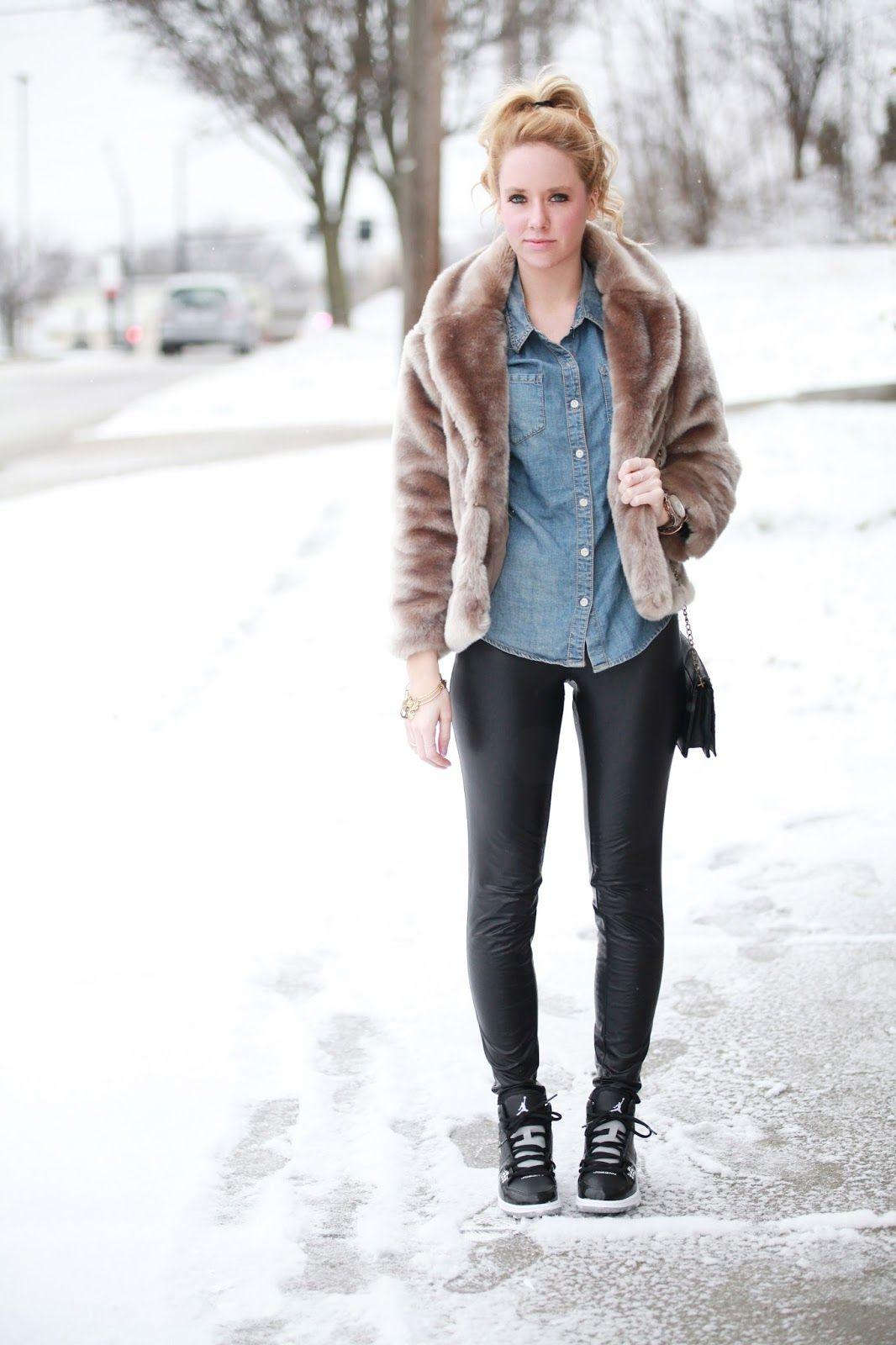 Fashionably Kay: Snow Blizzard