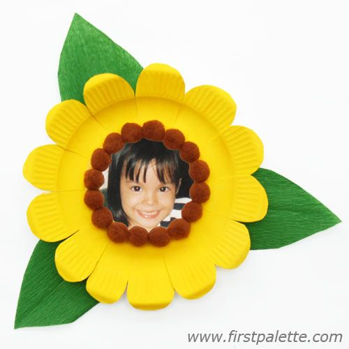 sunflower picture frame craft - Sunflower Picture Frames