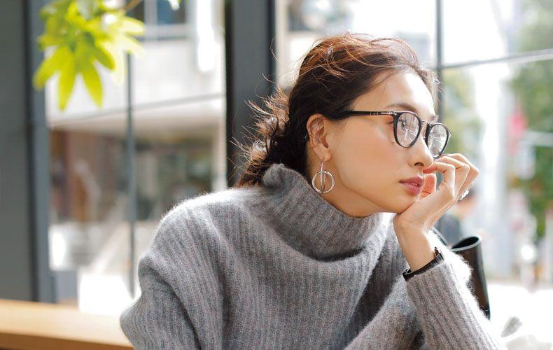 30代40代メガネ女子におすすめのファッション メイク 髪型を大特集 Domani メガネ女子 おしゃれメガネ 女性用メガネ
