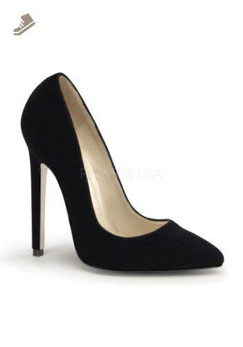 Zapatos rojos formales Pleaser Belle para mujer 3fZfK3