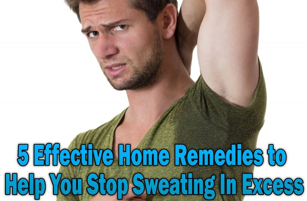 5 effective home remedies to help you stop sweating in