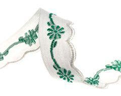Scallop Edged Cotton Trim Vintage Ribbon