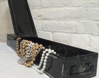 safe deposit box as jewelry storage Reuse Ideas for Storage