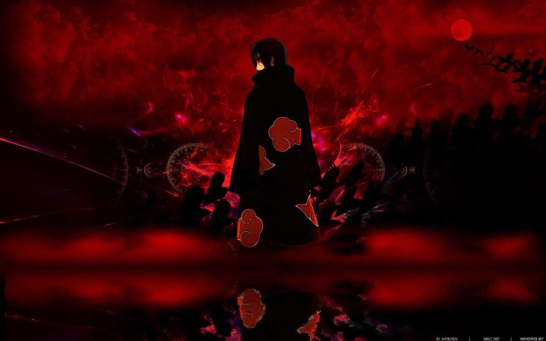 Dark Itachi Uchiha Wallpaper 4k Collection Arte Naruto Akatsuki
