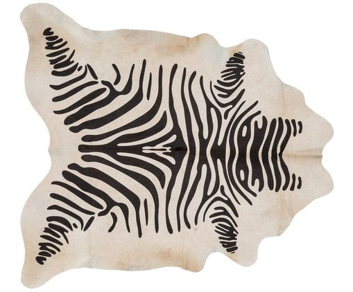 Kuhfell Teppich Zebra Boho Interior Bohemian Living Kuhfell