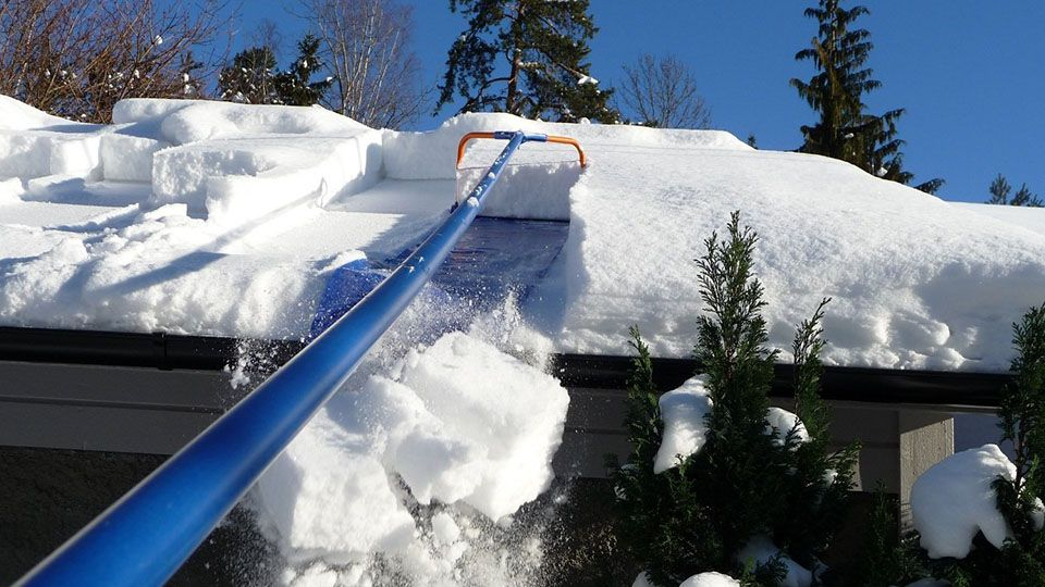 Avalanche Roof Rake Snow removal, Roof, Roofing