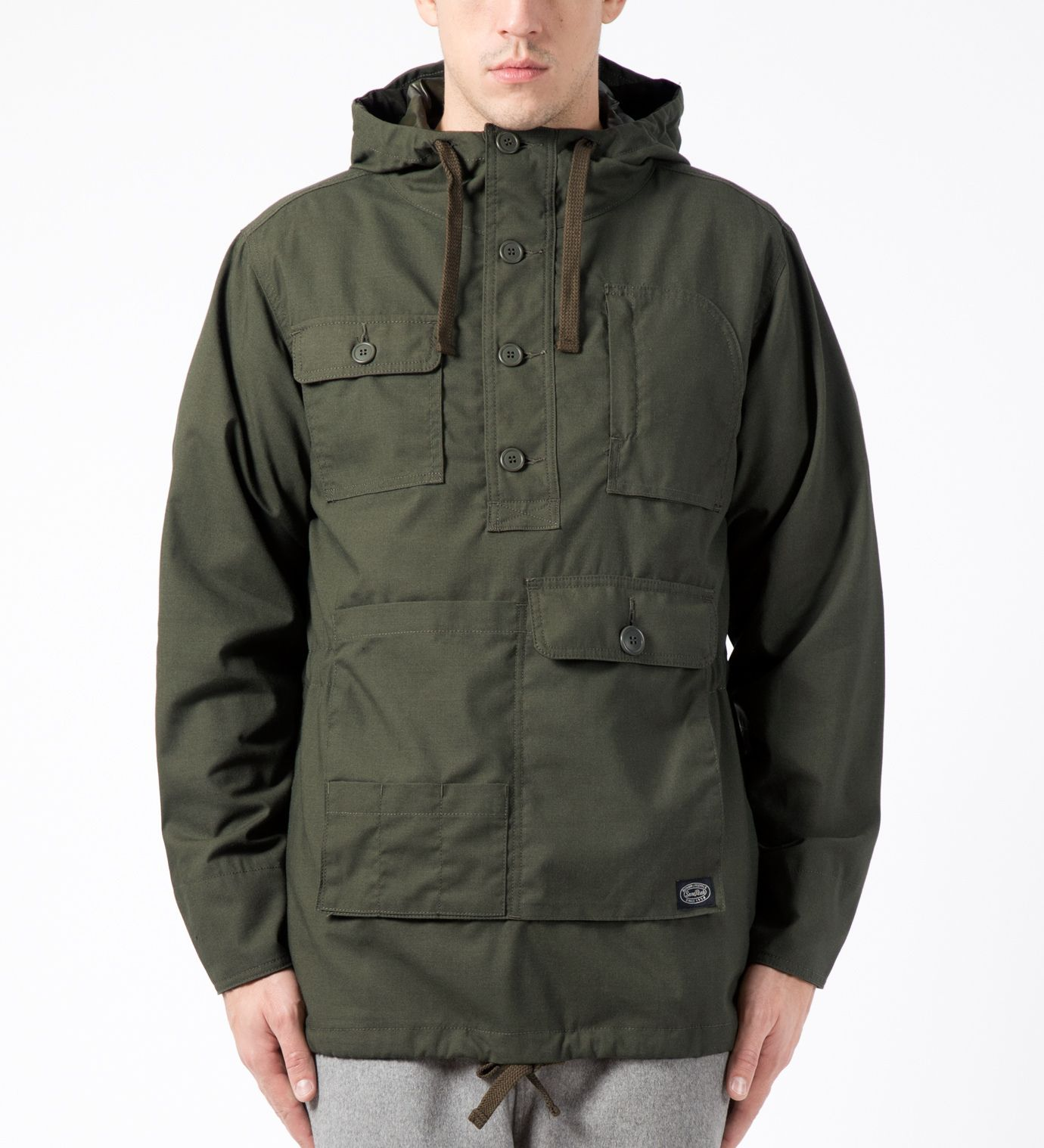 snow peak Olive Fire Protect Parka