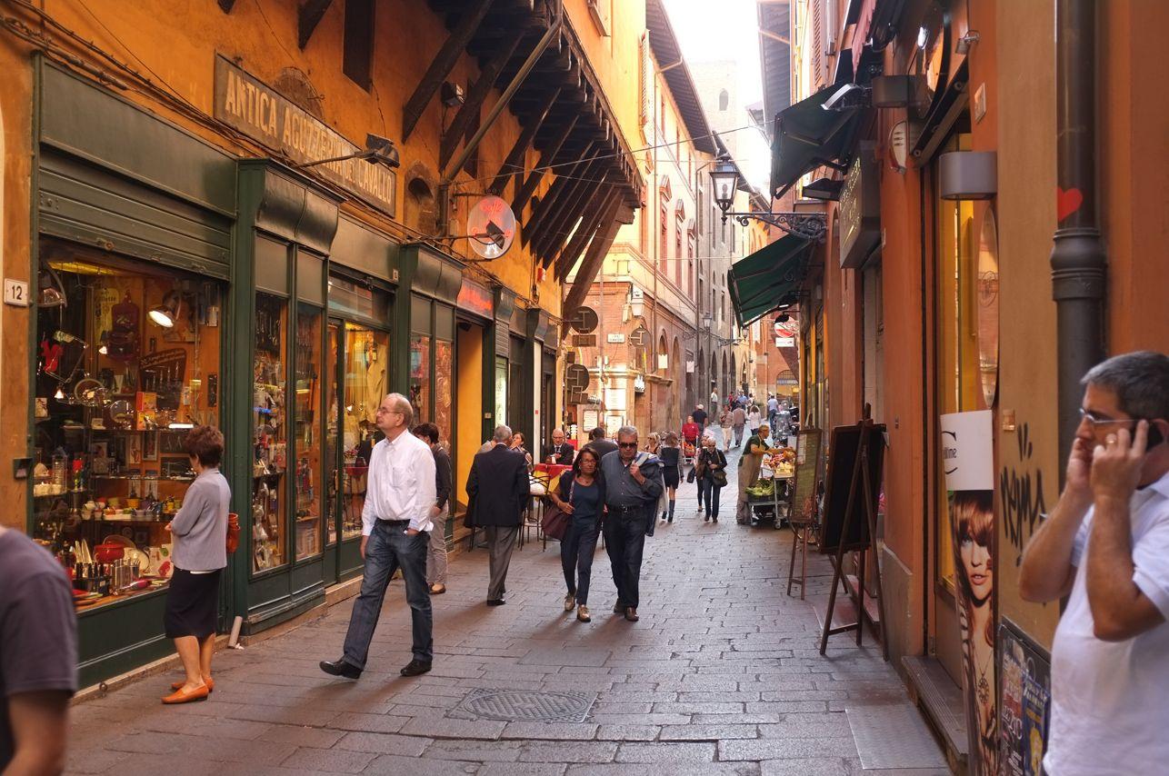 Food Enthusiast Mercato Di Mezzo Bologna Italy Bologna Italy Bologna Italy