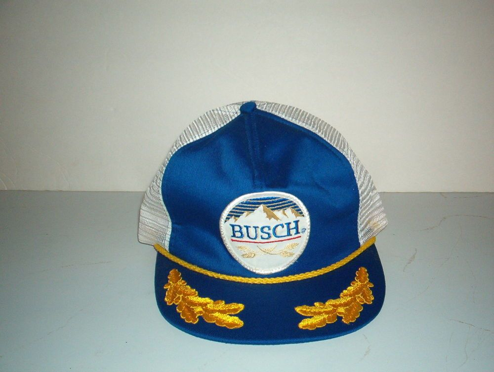 6c7c7555e19a6 vintage #80s busch beer hat / cap trucker snapback fancy from $29.99 ...