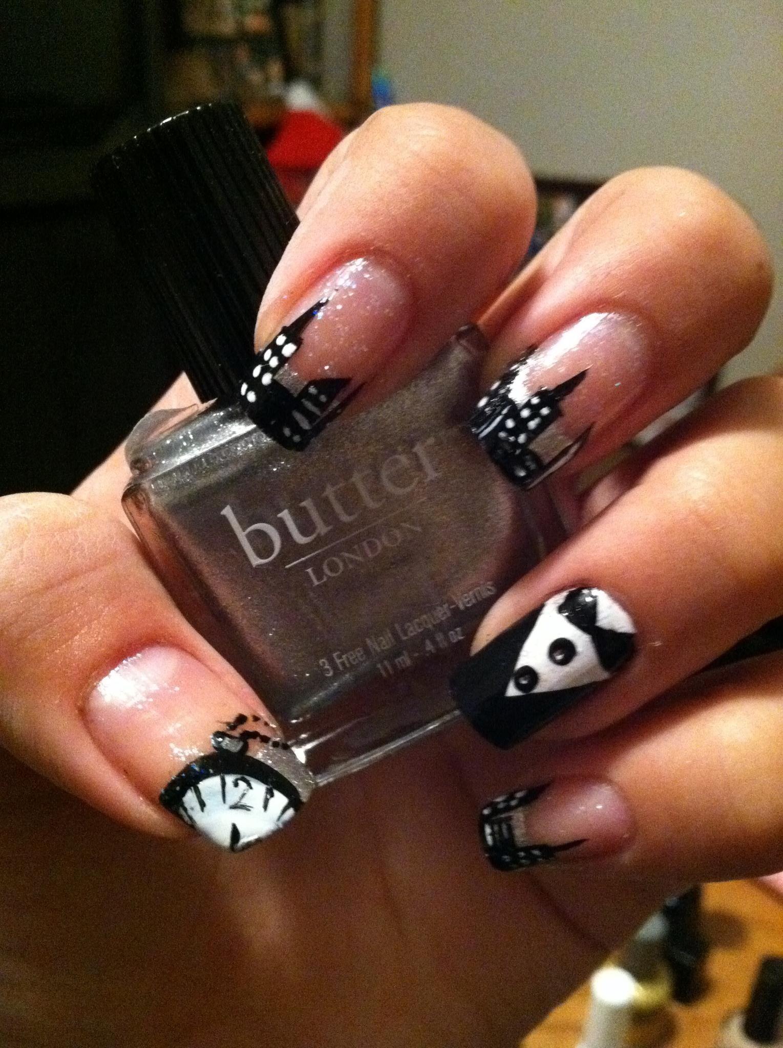 New Years eve nails   Nails, nails, nails   Pinterest   Nail nail ...