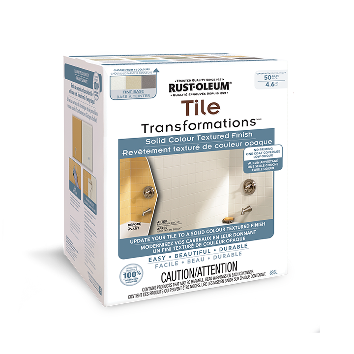 Specially formulated coating tightly adheres to ceramic and porcelain tile making Natural Stone Finish durable for years.