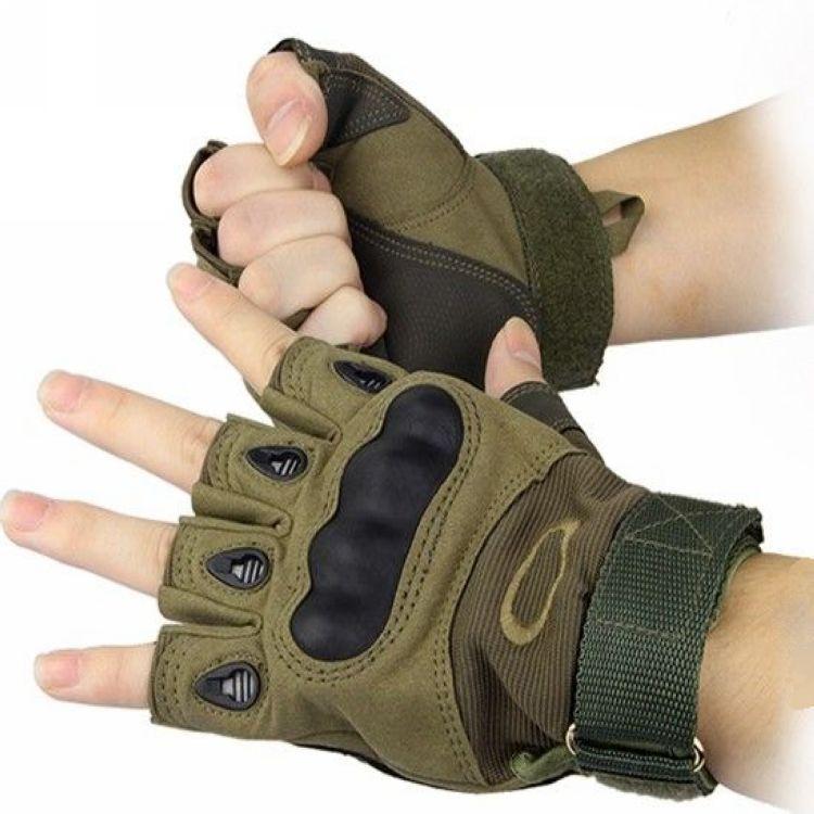 oakley kevlar gloves oa7r  Aliexpresscom : Buy Tactical gloves outdoor cut resistant slip resistant  semi finger male ride