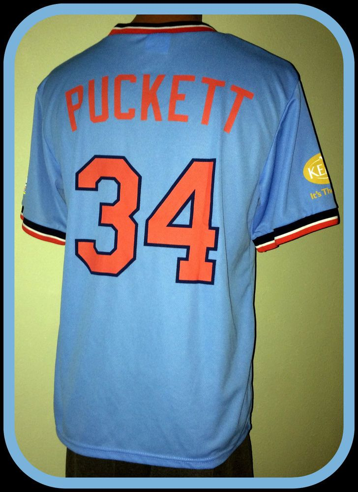 Kirby puckett jersey giveaways