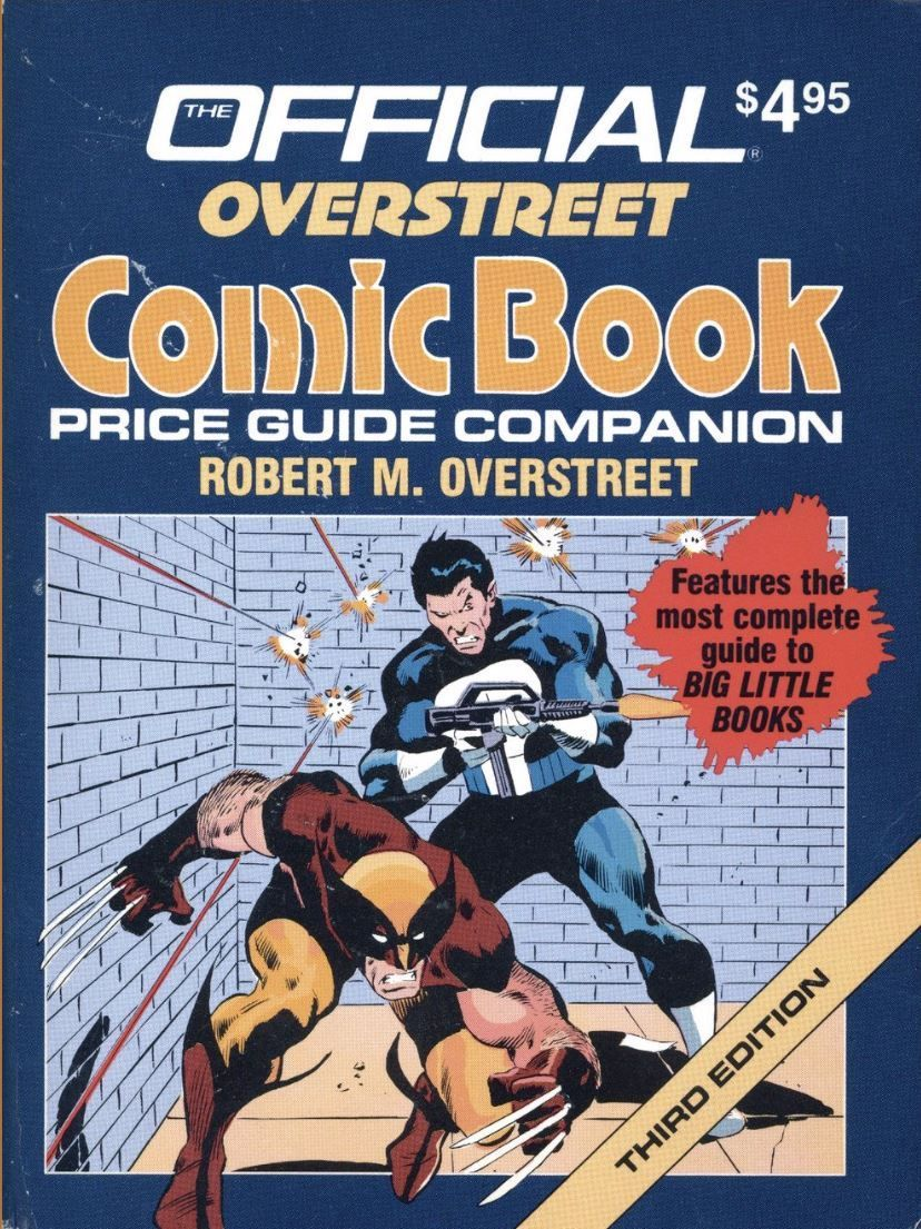 the cover to the official overstreet comic book price guide rh pinterest com Wizard Price Guide overstreet comic book price guide online