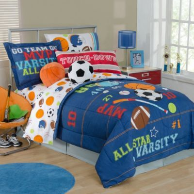 All Sports Bedding Collection Bedbathandbeyond Com Sports