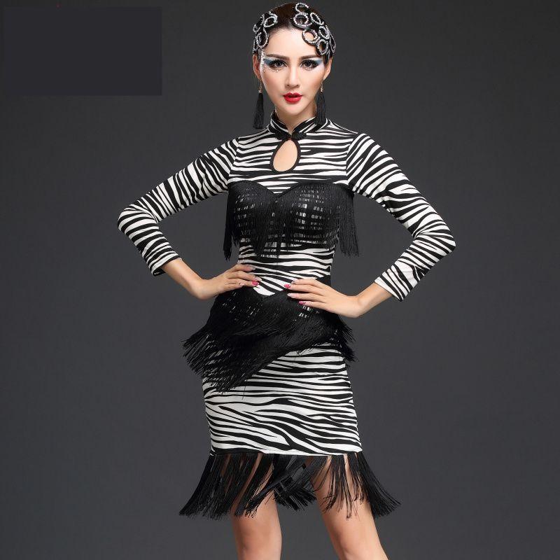 d5833b183155 2016 Latin Dance Dress Women Cha Cha/Rumba/Samba/Tango/Ballroom Dance Skirt  Sexy Plus Size Club Dresses Vestido Franja #Affiliate