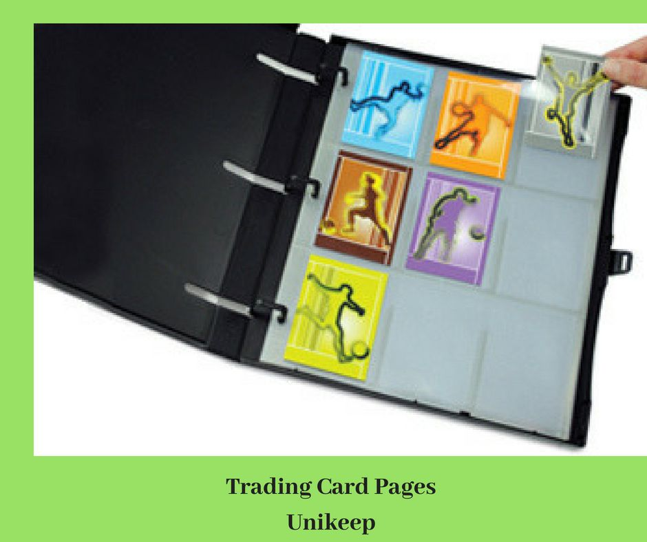Showcase Your Card Collection With Unikeep S Quality Trading Card Pages Made Up Of 100 Polypropylene Material These Qualit Cards Cheap Crystals Trading