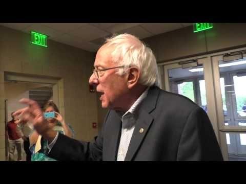 Bernie Takes on the Media