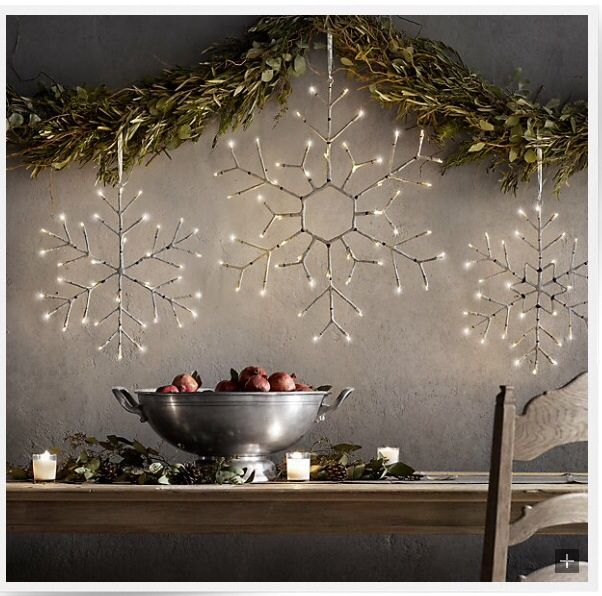 8 ideas for decorating with christmas lights - Restoration Hardware Christmas Lights
