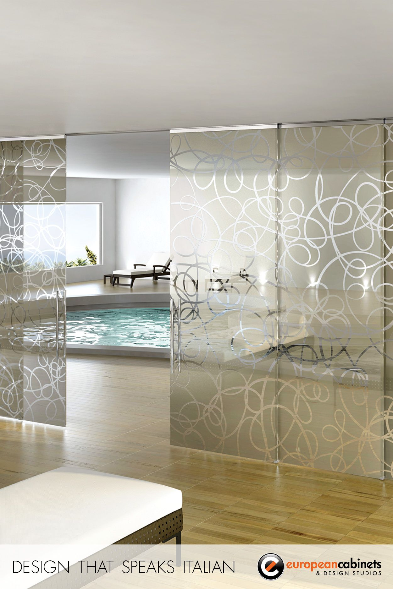 Aura Sliding Glass Door By Casali.