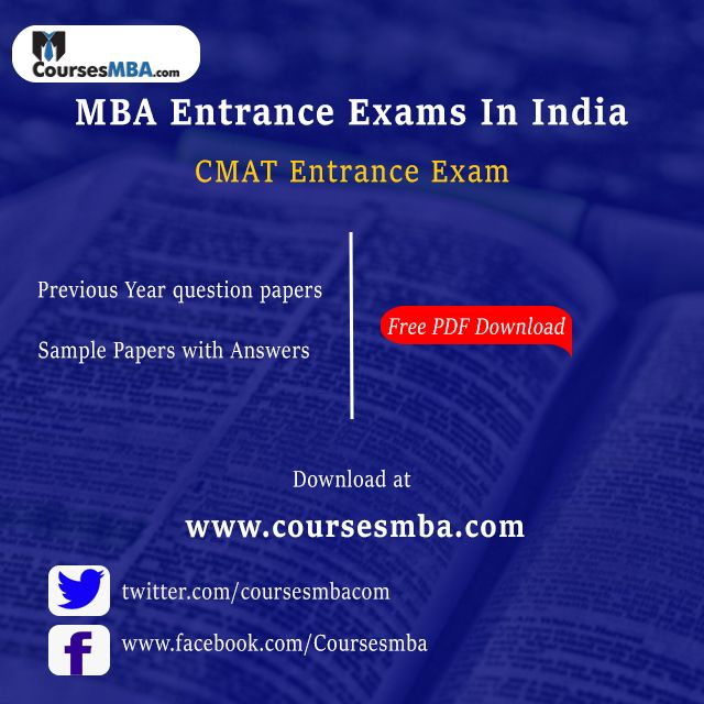 Mba Entrance Exam Question Papers With Answers Pdf