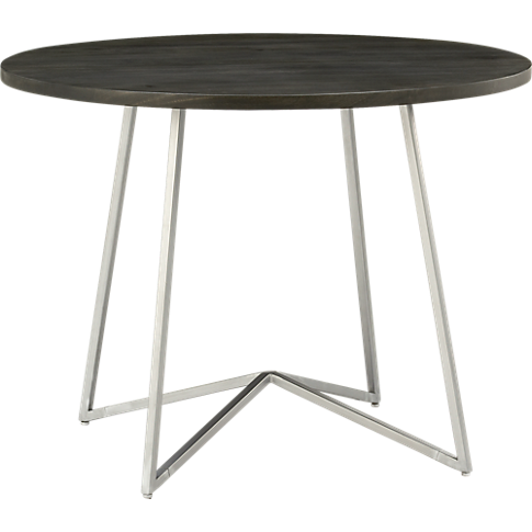 peak dining table in dining furniture cb2 399 for kitchen rh pinterest ca