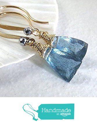 Aquamarine Earrings, Teal Blue Aquamarine Earrings, Gold Earrings, Aquamarine Gemstone, Petite Dangle, March Birthstone - Tidewaters from StoneLink Designs https://www.amazon.com/dp/B01639CCAM/ref=hnd_sw_r_pi_dp_VsVWyb0XRCAQY #handmadeatamazon