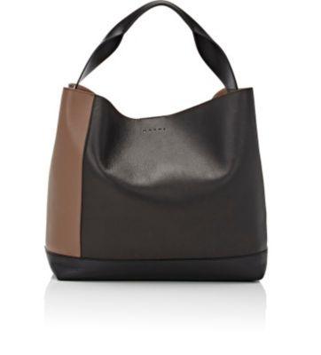 MARNI Small Hobo. #marni #bags #shoulder bags #leather #hobo #