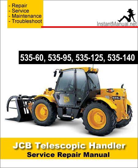 Jcb 550 loadall parts manual